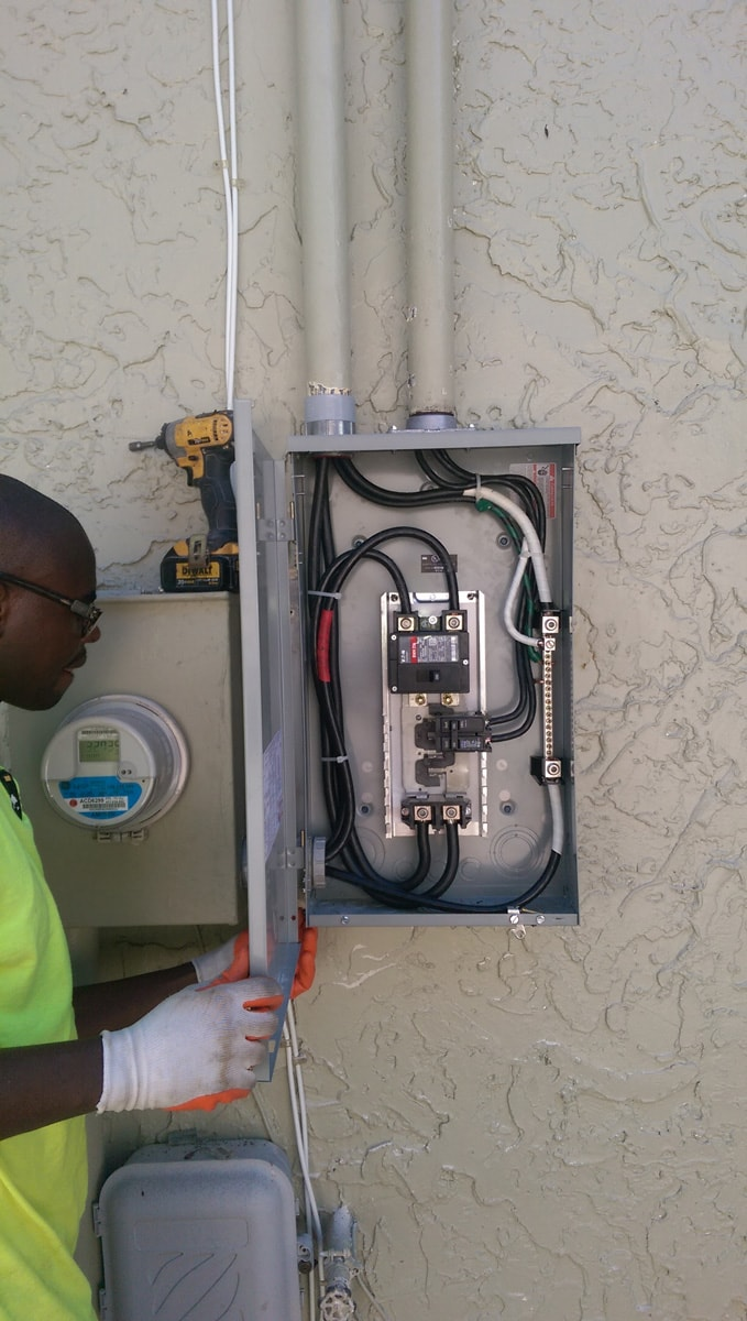 Professional electrical instalation